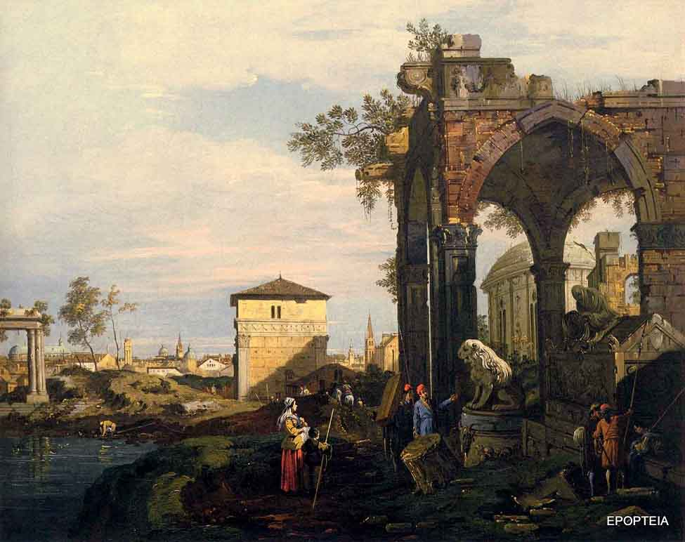 Canaletto, Ruins of Padova